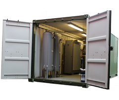 Container Nitrogen Gas Systems